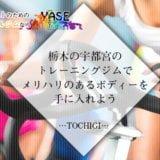 栃木の宇都宮のトレーニングジムでメリハリのあるボディーを手に入れよう