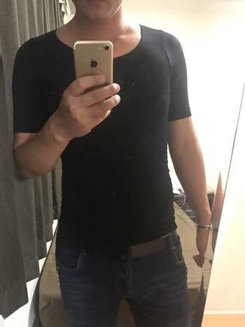 金剛筋シャツは肌着として着用できるのもおすすめ