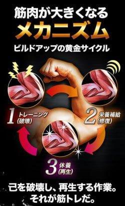 金剛筋HMBはプロテインよりも低カロリー&ヘルシーで太る心配も少ない!