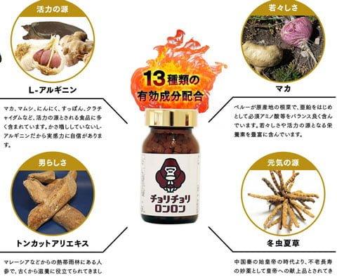 13種類の成分配合のオールインワンサプリ